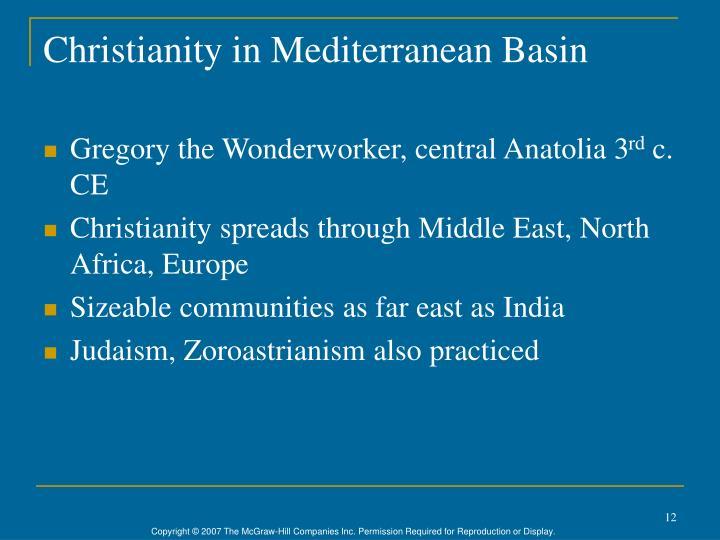 Christianity in Mediterranean Basin