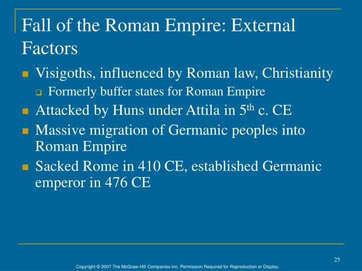 Fall of the Roman Empire: External Factors