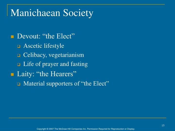 Manichaean Society