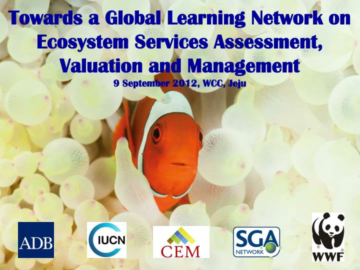 Towards a Global Learning Network on Ecosystem Services Assessment, Valuation and Management