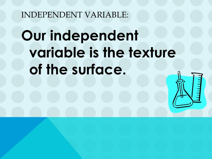 Independent Variable: