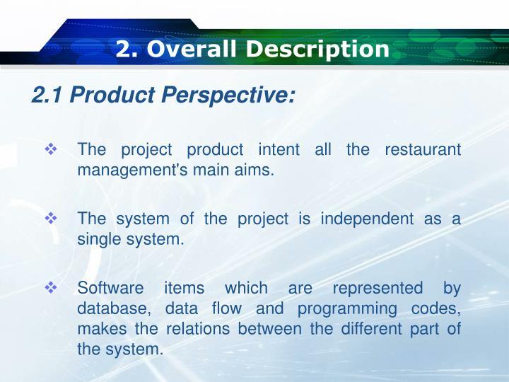 2. Overall Description