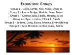 exposition groups1