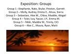 exposition groups2