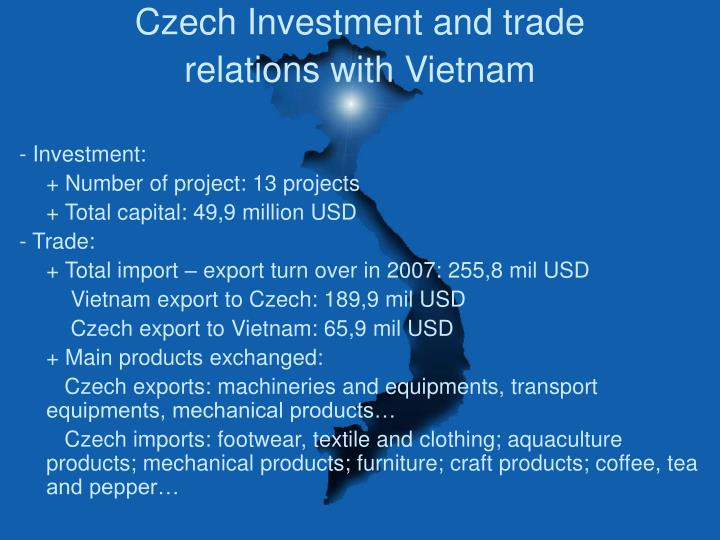 Czech Investment and trade