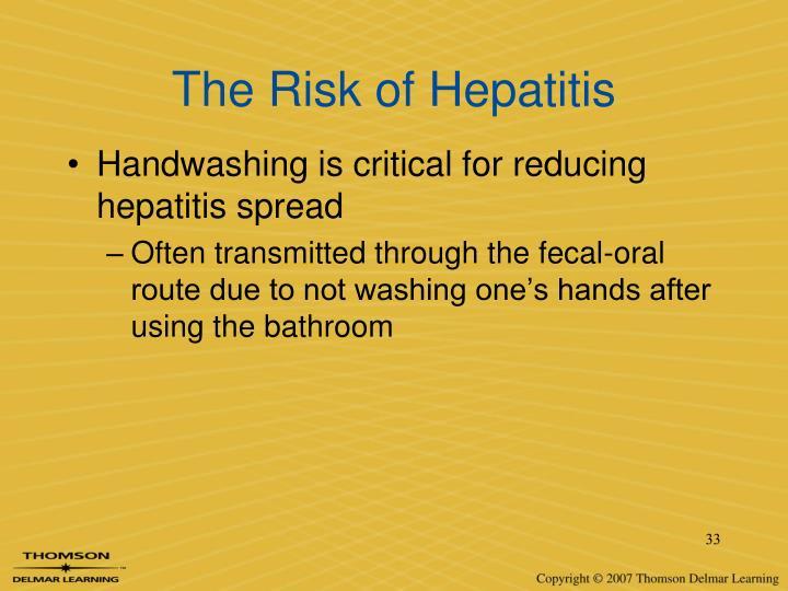 The Risk of Hepatitis