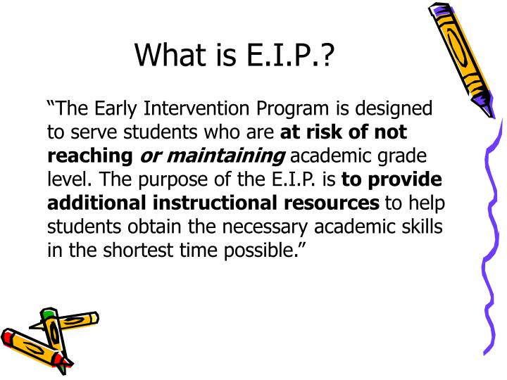 What is E.I.P.?