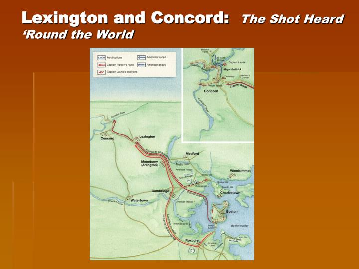 Lexington and Concord: