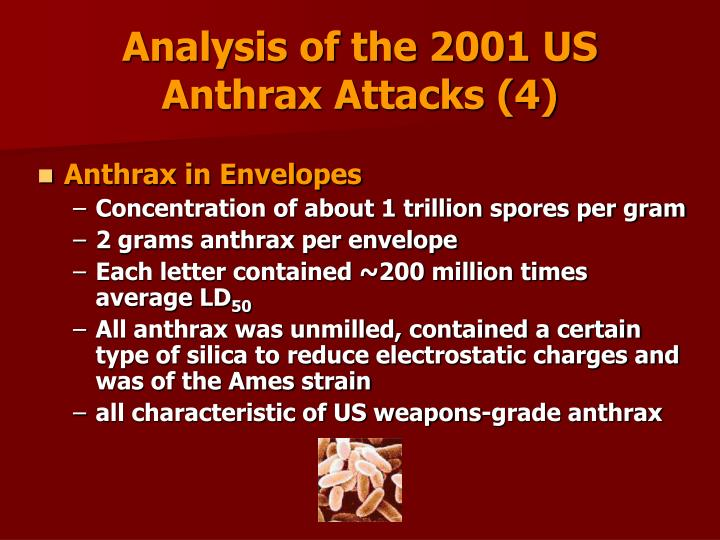 Analysis of the 2001 US Anthrax Attacks (4)