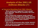 analysis of the 2001 us anthrax attacks 7
