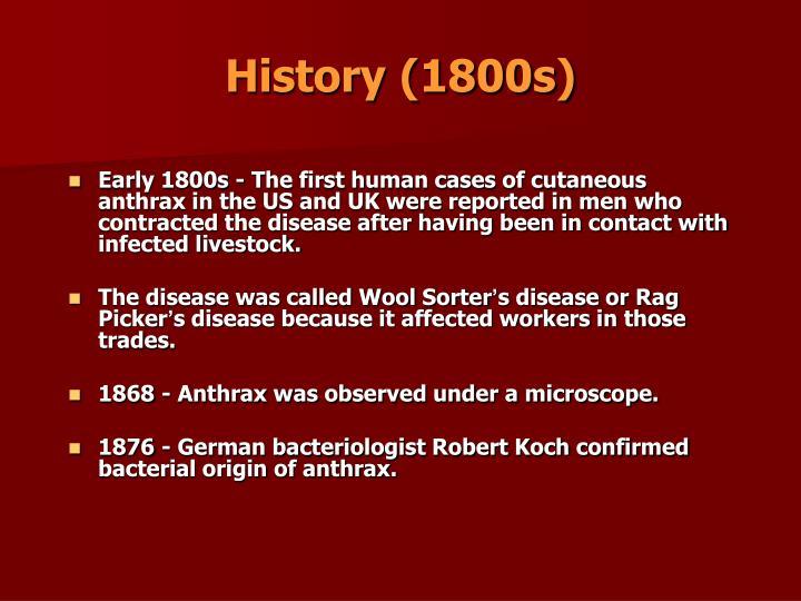 History (1800s)