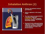 inhalation anthrax 2