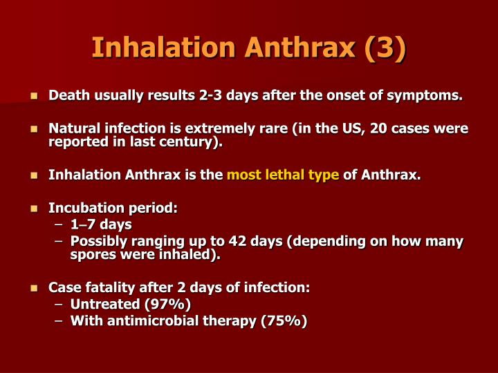 Inhalation Anthrax (3)