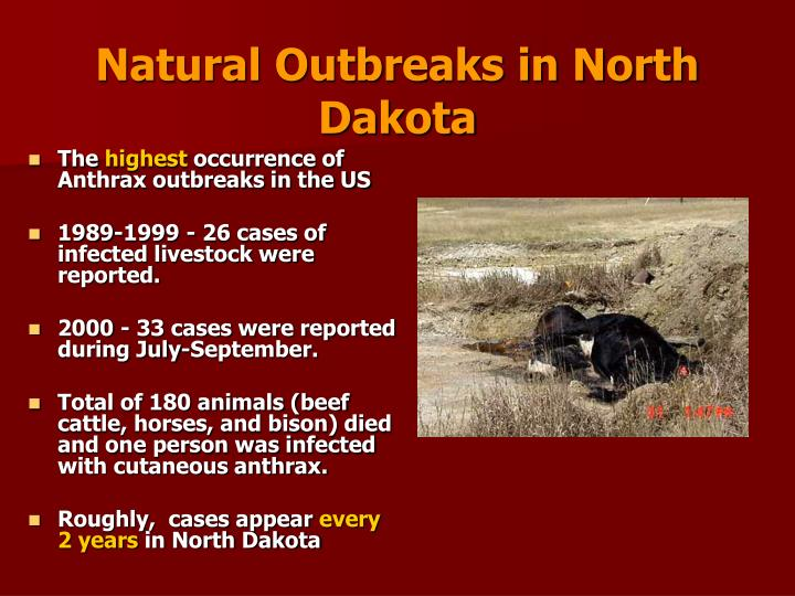 Natural Outbreaks in North Dakota