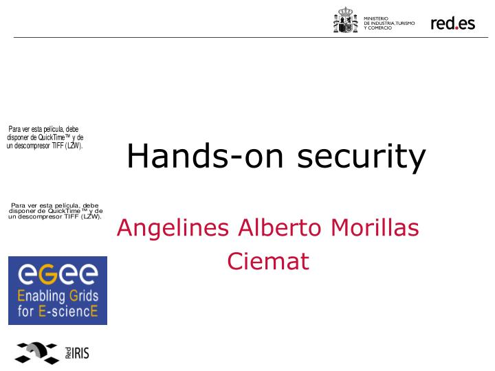 Hands on security