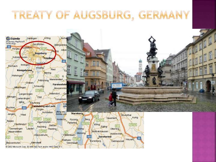 Treaty of Augsburg,