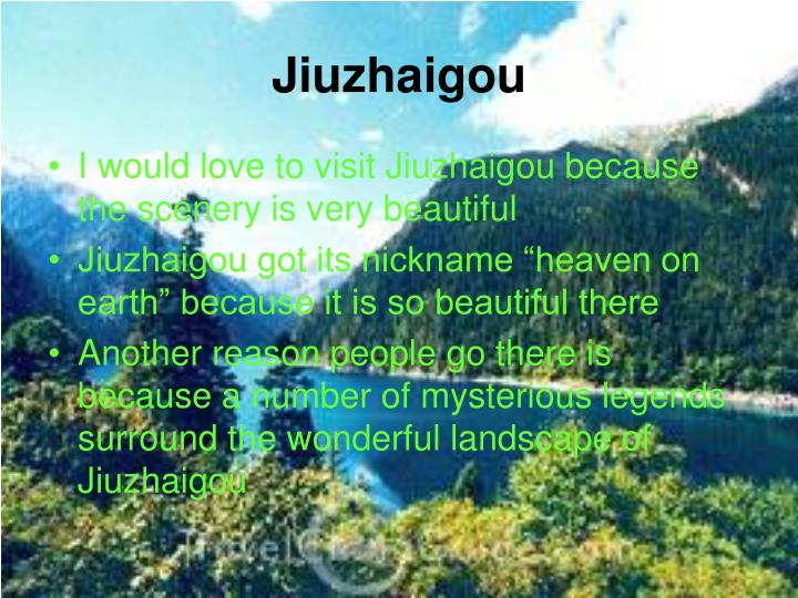 Jiuzhaigou