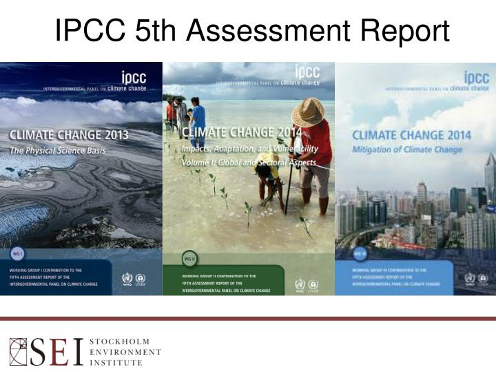 IPCC 5th Assessment Report