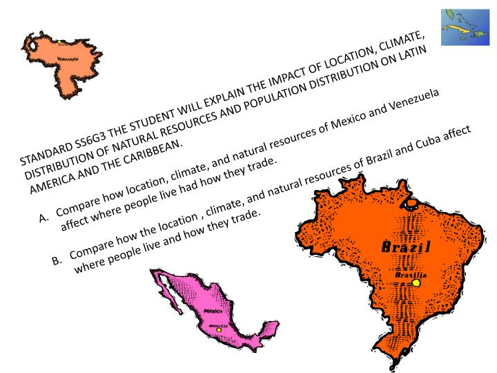 geographical impact on latin america s history