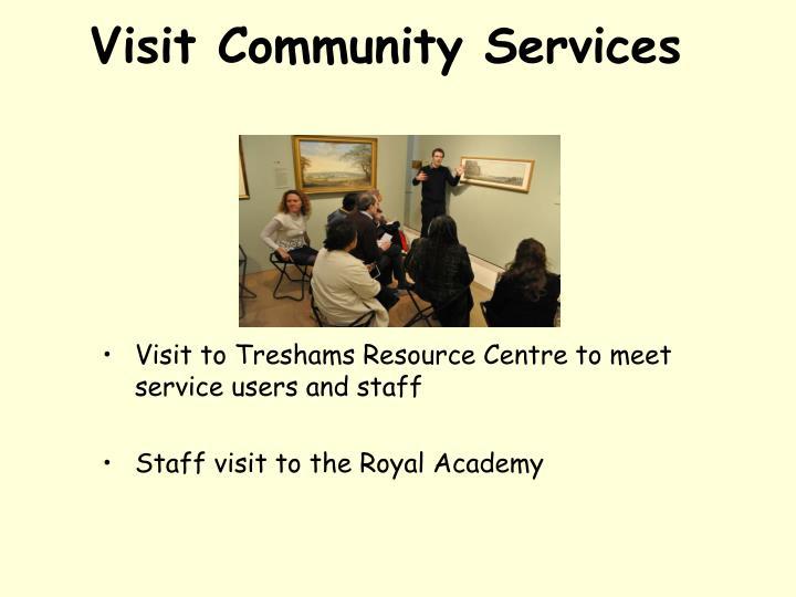 Visit Community Services