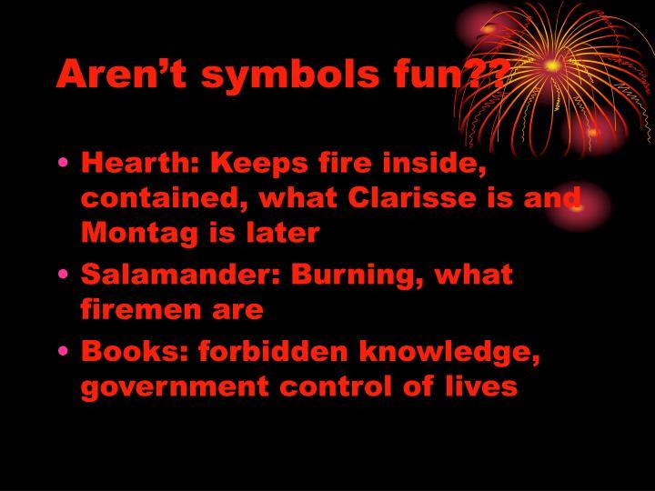 Aren't symbols fun??