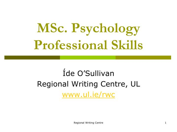 Msc essay writing