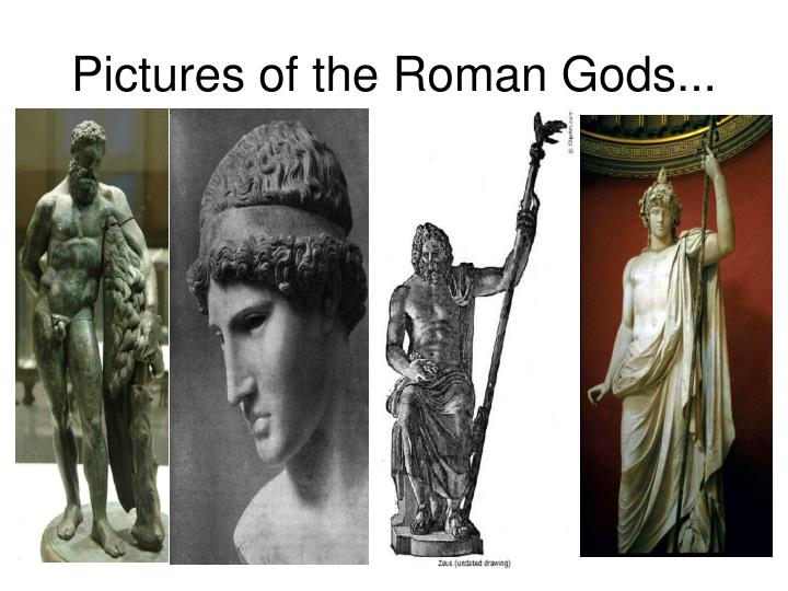 Pictures of the Roman Gods...