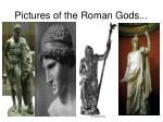 pictures of the roman gods