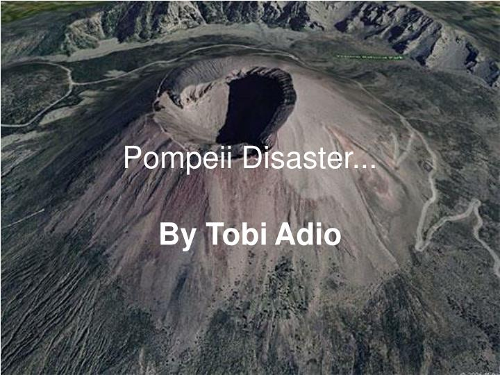 Pompeii disaster