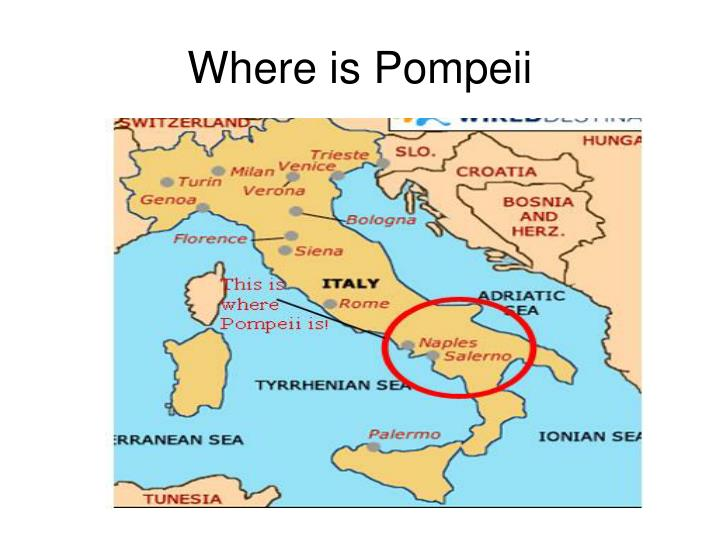 Where is pompeii