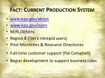 fact current production system1