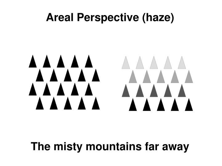 Areal Perspective (haze)