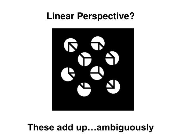 Linear Perspective?