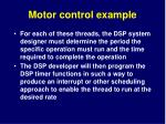 motor control example15