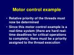 motor control example6