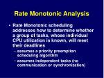 rate monotonic analysis3