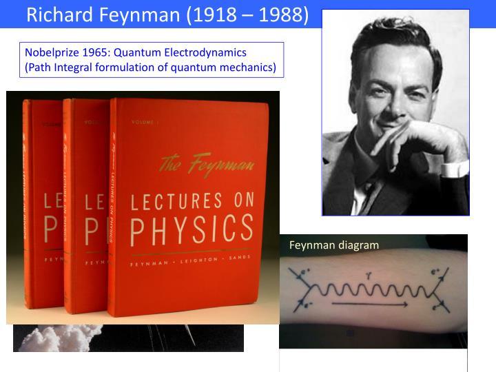 Richard Feynman (1918 – 1988)                               .