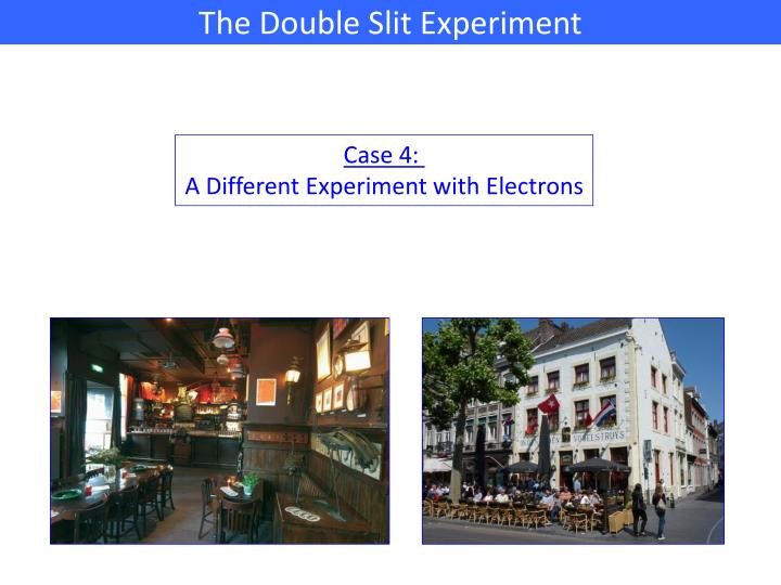The Double Slit Experiment