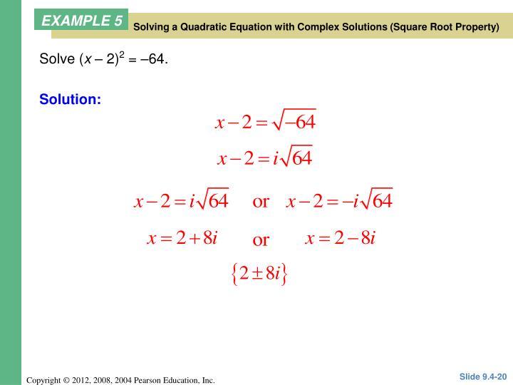 Solve (