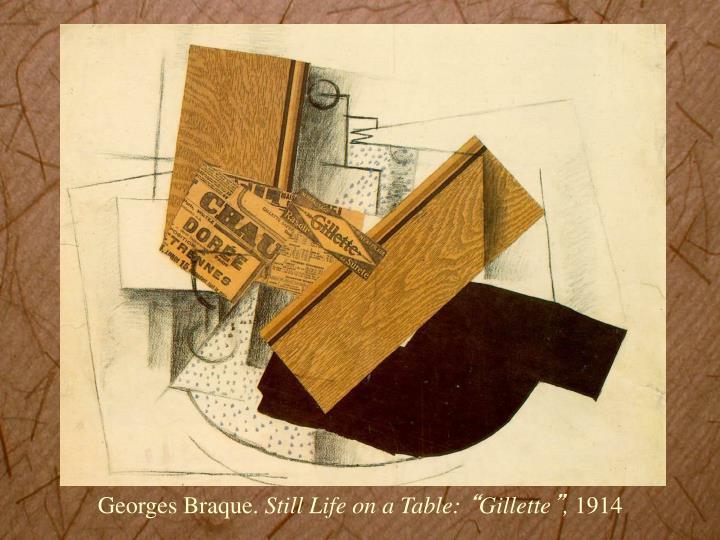 Georges Braque.