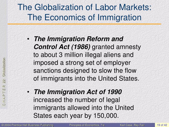 The Globalization of Labor Markets: