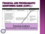 financial and programmatic monitoring guide cont2