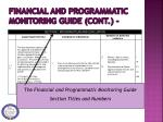 financial and programmatic monitoring guide cont3