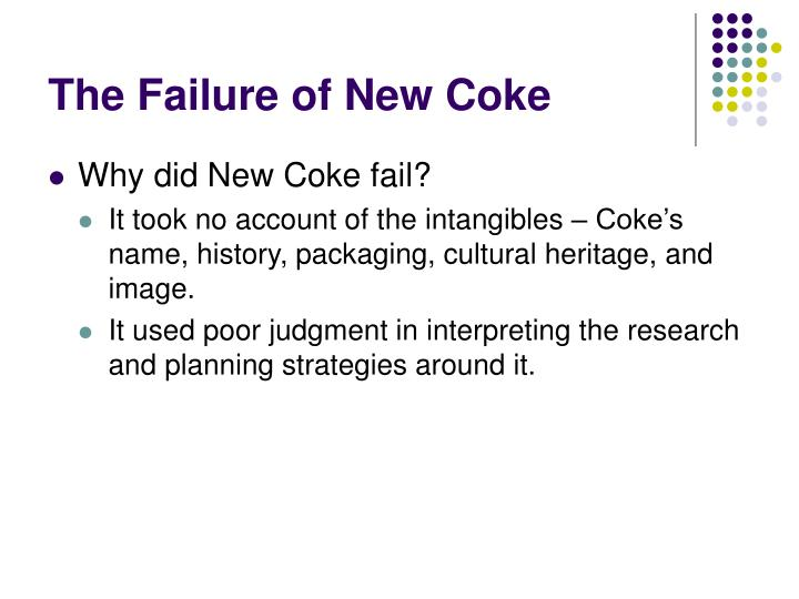 The Failure of New Coke