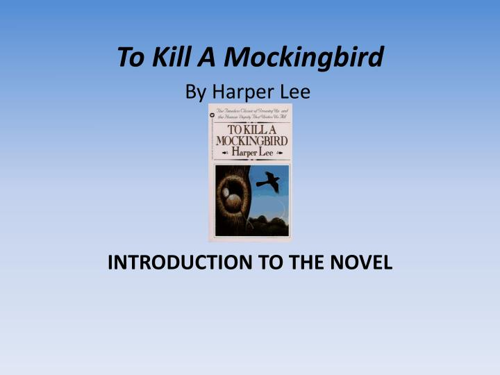 By Harper Lee