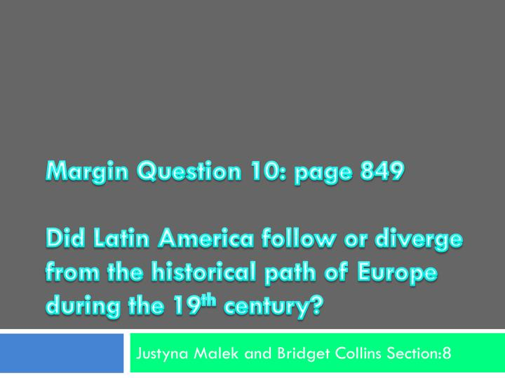 Margin Question 10: page 849