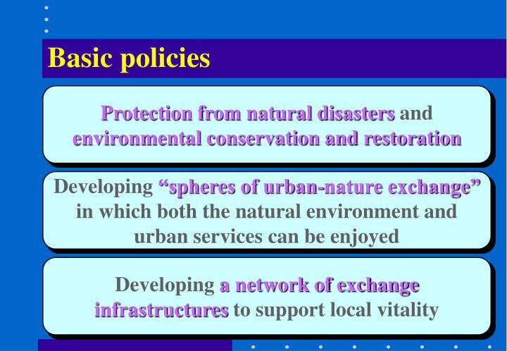 Basic policies