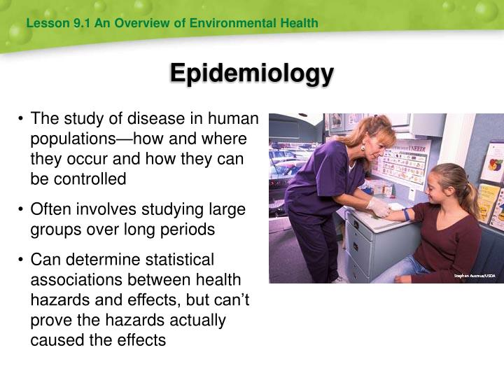 Lesson 9.1 An Overview of Environmental Health