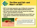 the rise and fall and rise of ddt