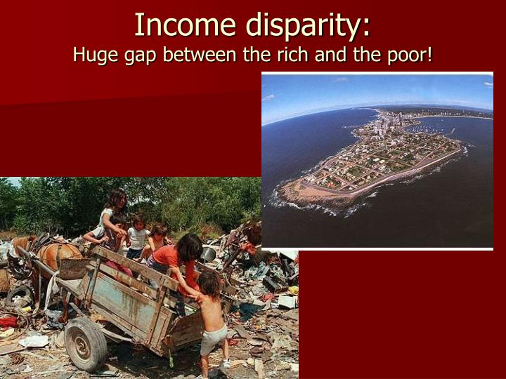 Income disparity: